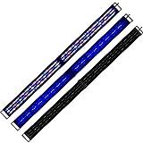 AE Acuario Lámpara rampa 60–180cm blanco azul para peces plantas