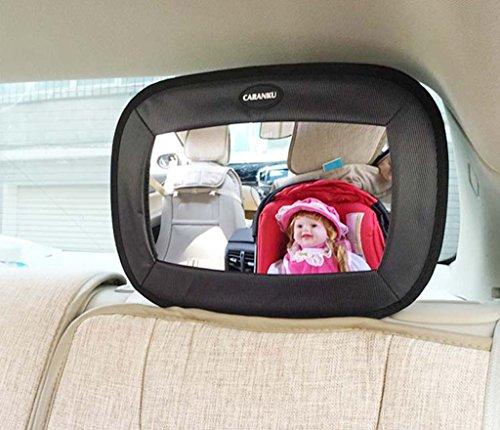Siège de sécurité Rétroviseur intérieur Rétroviseur enfant Véhicule bébé Panier à panier inversé Rétroviseur intérieur