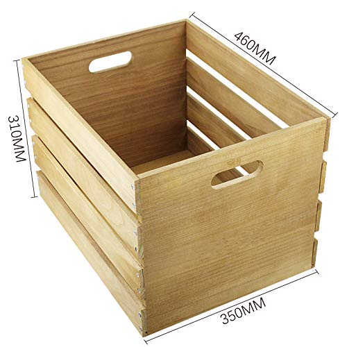 7even contenitore in legno per esposizione dei dischi in vinile