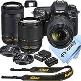 Nikon D7500 DSLR Camera Kit with 18-140mm VR + 70-300mm...