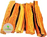CDE CREATIONS Palo Santo Smudging Sticks, High Resin Palo Santo, Holy Wood. Premium Certified Authentic, Wild Harvested Incense Stick for Purifying, Cleansing, Meditation and Stress Relief. 5 Sticks.
