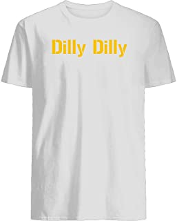 pit of misery dilly dilly bud light meaning commercial alabama steelers christmas Men's Short Sleeve Graphic Fashion T-Shirt