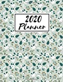 2020 Weekly and Monthly Planner all in 1 : 8,5 x 11 Monthly Pocket Planner with Phone Book, Password Log and Notebook.: Pretty 24 Months Agenda, ... and Organizer - calendar planner 2020