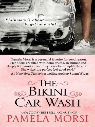 The Bikini Car Wash (Wheeler Large Print Book)