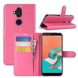 HualuBro Coque Zenfone 5 Lite ZC600KL, Premium Étui en Cuir PU Leather...