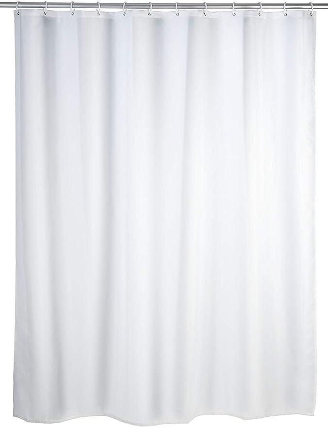 385 opinioni per Wenko 20151100 Tenda doccia antimuffa monocolore Bianco- antibatterica,