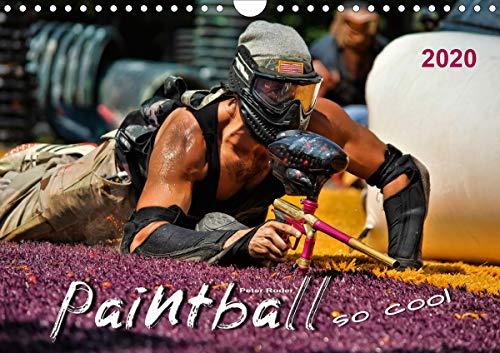 Paintball - so cool (Wandkalender 2020 DIN A4 quer)
