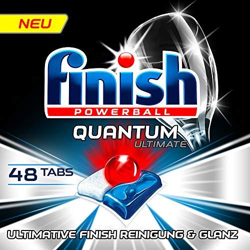 Finish Quantum Ultimate Spülmaschinentabs, XXL Pack, 48 Tabs