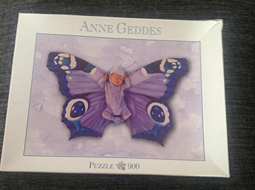 Anne Geddes Puzzle 900 Teile Schmetterling , 57637