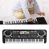 Jingyi Pianoforte Elettrico, Tastiera Digitale elettrica a 61 Tasti Pianoforte Strumenti M...
