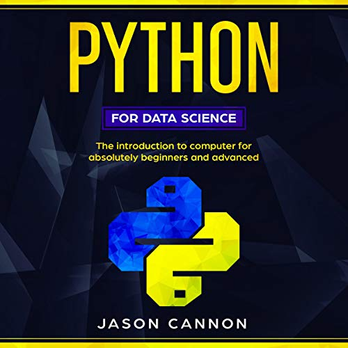 Python for Data Science Audiobook By Jason Cannon cover art