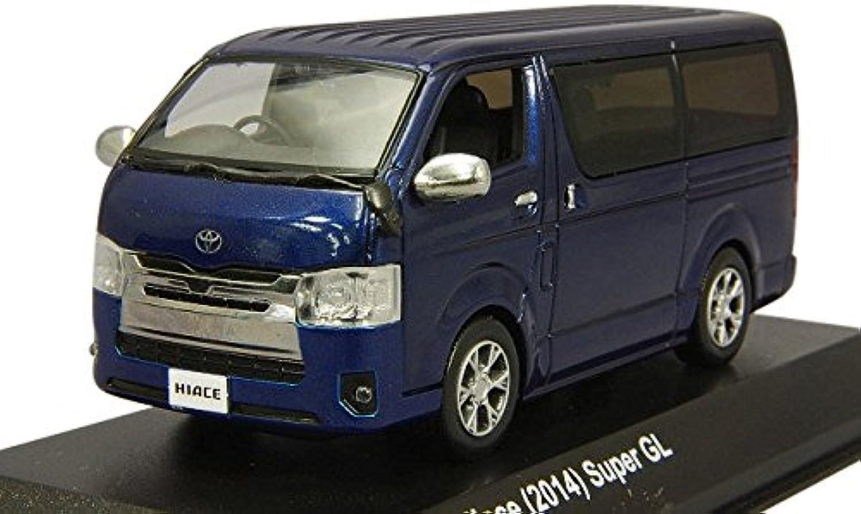 Kyosho original 1 43 Toyota Hiace 2014 dunkelblau B00Y84761A Glücklicher Startpunkt  | Ausgezeichnetes Preis