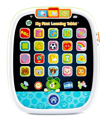 LeapFrog My First Learning Tablet, Scout, Green