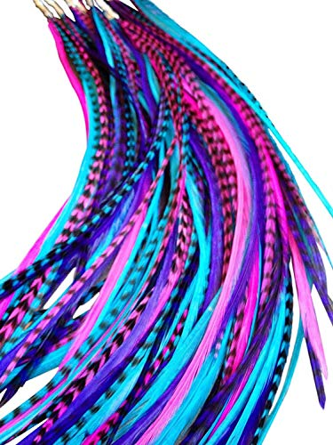 Feather Hair Extensions, 100% Real …