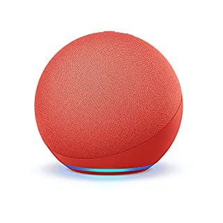 Echo (4th Gen)   With premium sound, smart home hub, and Alexa   (PRODUCT)RED (B085PNT9Q4)   Amazon price tracker / tracking, Amazon price history charts, Amazon price watches, Amazon price drop alerts