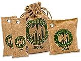 Natürlicher Bambus Lufterfrischer mit Aktivkohle – KochWunder Wunderkissen – Luftreiniger für Wohnzimmer