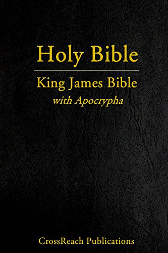 King James Bible with Apocrypha (CrossReach Bible Collection Book 4)