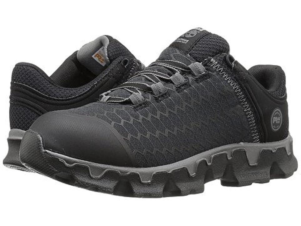 韓国ゲスト翻訳レディースウォーキングシューズ?カジュアルスニーカー?靴 Powertrain Sport Soft Toe SD+ Black Synthetic 9.5 26.5cm C - Wide [並行輸入品]