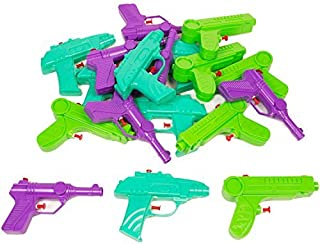 Boley 18 Pack Water Gun Party Pack - Massive Squirt Guns/Blasters/Pistols Pack for Kids, Children, Toddlers - Perfect for Pool Parties, Party Favors, and Summer Fun!