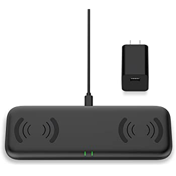 : Dual Wireless Fast Charger, 2 in 1 Wireless