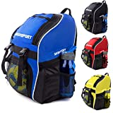 Soccer Backpack - Basketball Backpack - Youth Kids Ages 6 and Up...