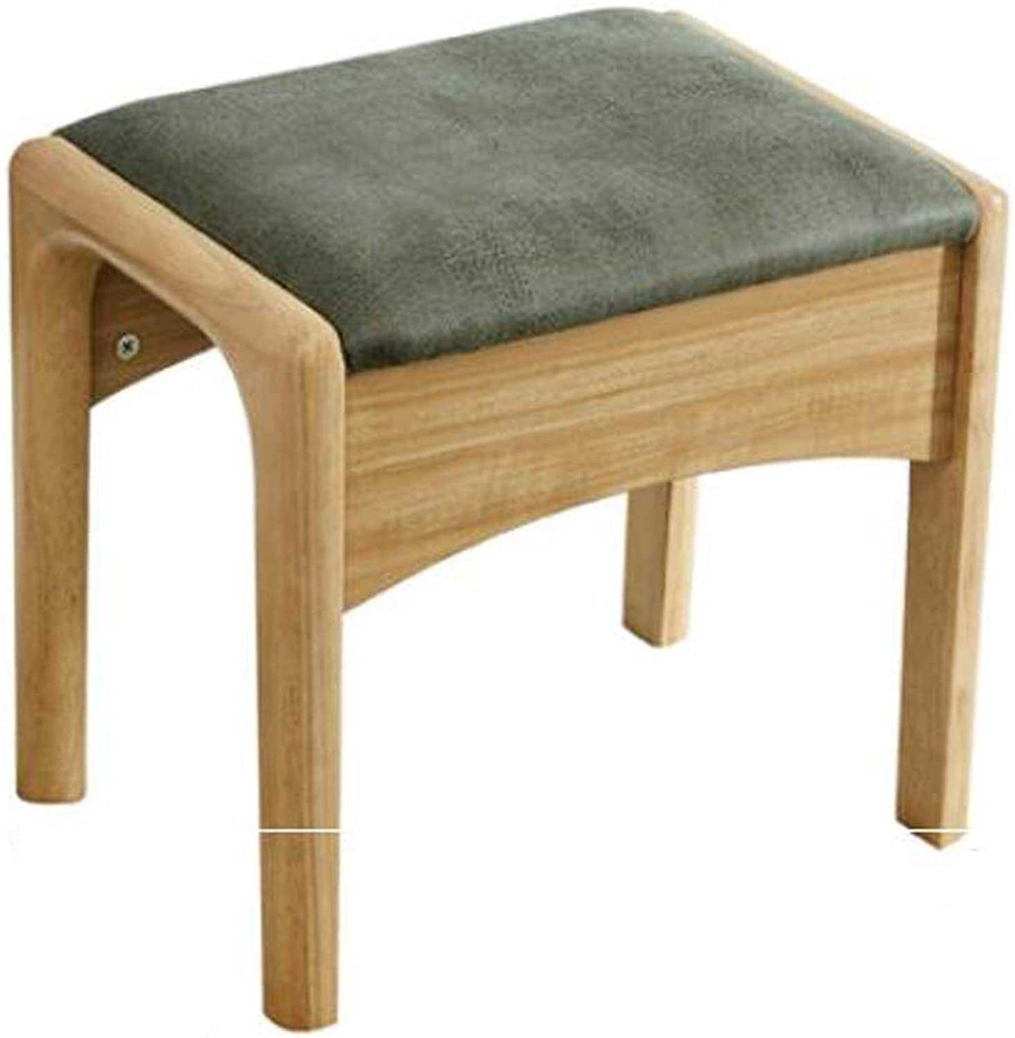 SYFO Household Solid Wood Stool, Simple shoes Bench, Creative Stool, Dressing Stool Stool