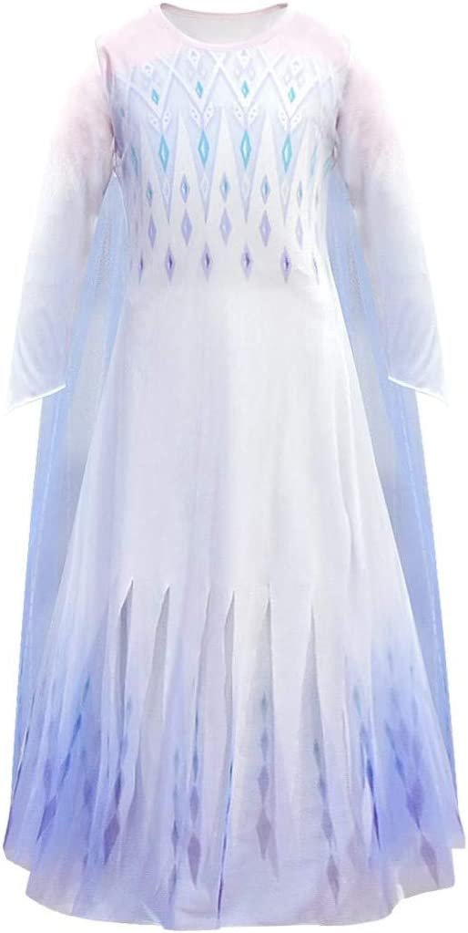 Morninging New Princess Costumes for Girls Halloween Party Cosplay Dress Up