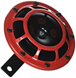 Stark Sound–109.23.37–Red Set 12V High/Low Frequency Hella Super Tone Horn Set B 133, 12volt -