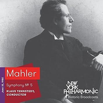 Mahler: Symphony No. 5 (Recorded 1980)