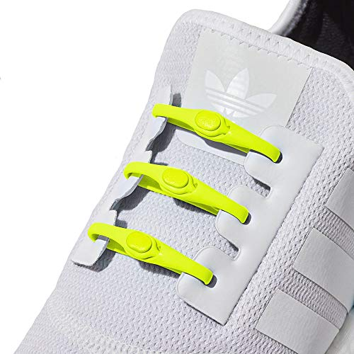 HICKIES Tie-Free Laces (2.0 New) - Neon Yellow