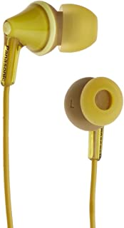 Panasonic RP-HJE125-Y Wired Earphones, Yellow