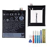 Batterie de rechange B2PST100 compatible avec HTC Desire 530 A16 A17 Desire 630 Desire 650 avec outils