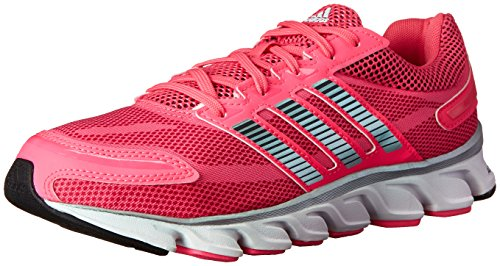adidas Performance Women's Powerblaze W Running Shoe, Solar Pink/Silver/Pink, 7.5 M US