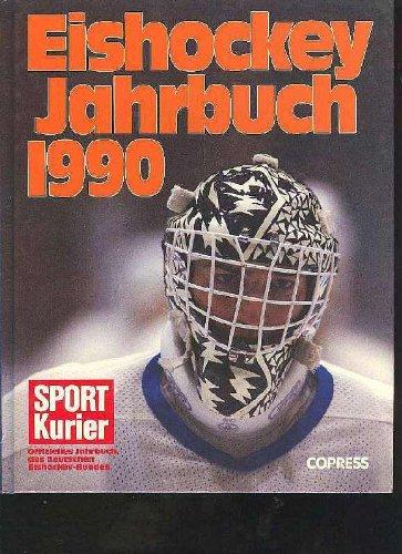 Eishockey-Jahrbuch 1990. Offizielles Jahrbuch des Deutschen Eishockey-Bundes, Copressgroßband, 176 Seiten, Bilder