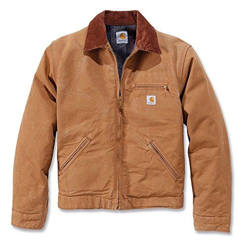 Carhartt workwear EJ001 - Chaqueta de trabajo revestimiento xl, marrón,