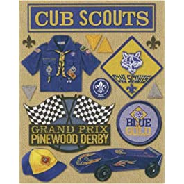K&Company Cub Scout Grand Adhesions Stickers
