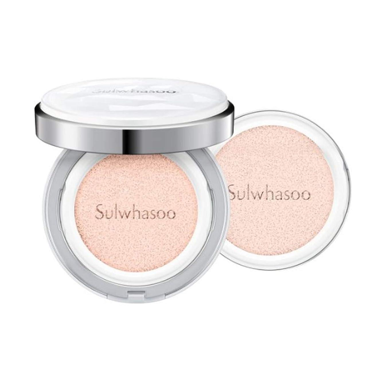いっぱい配置違う[Sulwhasoo]雪花秀(ソルファス)滋晶(ジャジョン)ブライトニングクッション #21ナチュラルピンク SPF50+/PA+++ Snowise Brightening Cushion 21 Natural Pink