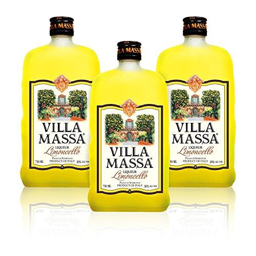 Limoncello of Sorrento Villa Massa (3 Flaschen 500 ml)