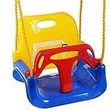 Shuxinmd Sicher und umweltfreundlich 3 in 1 Multifunktions Baby Schaukel Hängekorb Outdoor Kinder Spielzeug für Jungen Mädchen Kleinkinder für Babykinder