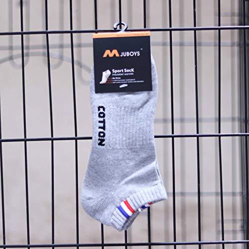 N-B Calcetines con Parte Inferior de Toalla para Hombre, Calcetines Deportivos de Cintura, Calcetines de algodón para Barco, Calcetines Gruesos a la Moda, Calcetines de Felpa para Hombre