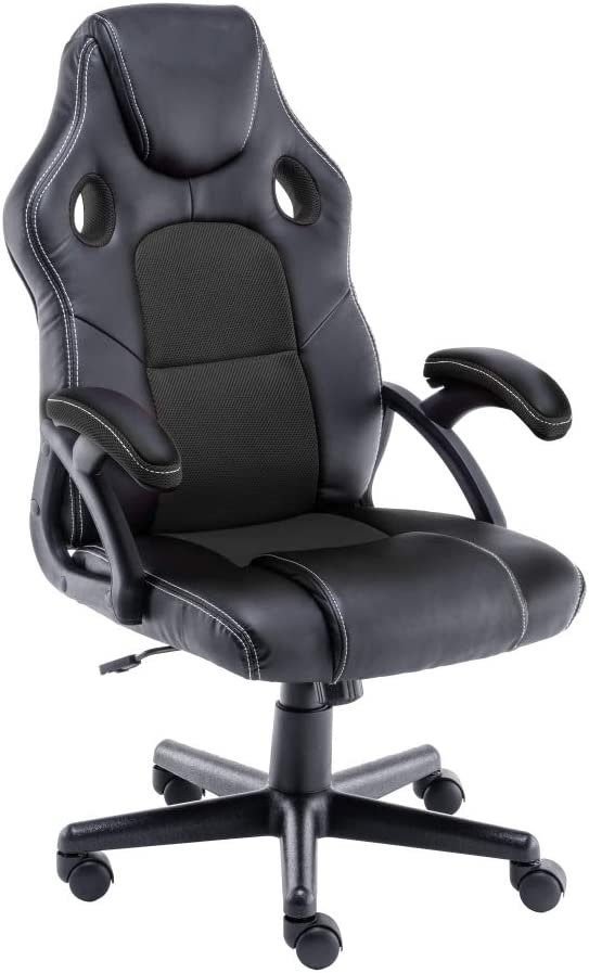 1261 opinioni per play haha. Sedia da Ufficio Girevole, in Stile Racing, Girevole, ergonomica, con