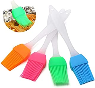2pcs Oil Cake Brush Silicone Baking Oil Brush Pastry Cream for Bread BBQ Utensil Safety Basting Oil Brushes Kitchen Tools ...