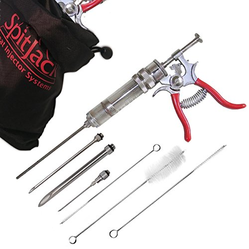 SpitJack The Magnum Meat Injector Gun (with 4 Needles)