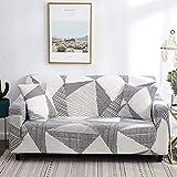 WXQY Funda de sofá elástica para Sala de Estar en Forma de L Funda de sofá de Esquina combinación Todo Incluido protección para Mascotas Funda de sofá A1 1 plazas
