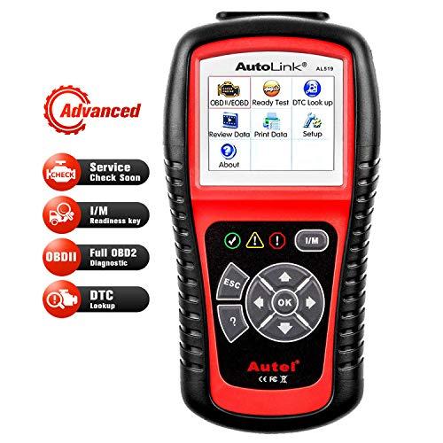 Autel AutoLink AL519 OBD2 Scanner Enhanced Mode 6 Check Engine Code Reader, Universal Car Diagnostic Tool, DTC Lookup, Upgraded Ver. of AL319