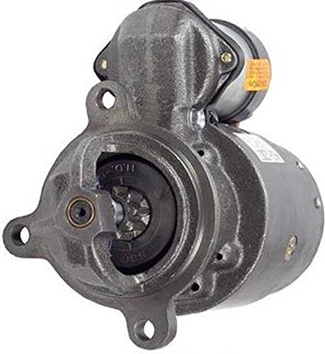 Rareelectrical NEW STARTER MOTOR COMPATIBLE WITH CLARK FORKLIFT C500-Y45 C500-Y50 C500-Y55 1998266 1107378
