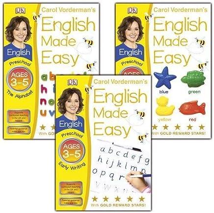 Carol Vordermans English Made Easy Ages 3-5 (3 Workbooks)
