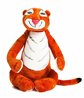 AURORA 60142 Tiger Who Came to Tea Soft Toy, 10.5-inches, Orange & White, Character from The Book, Orange and White from The Tiger Who Came to Tea