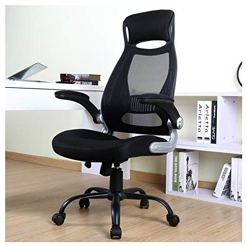 BERLMAN Ergonomic High Back Mesh Office Chair with Adjustable Armrest Desk Chair Computer Chair...