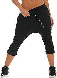Femme Pantacourt Court 7/8 Stretch Casual Pantalon